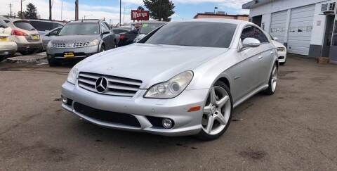 2008 Mercedes-Benz CLS for sale at GPS Motors in Denver CO