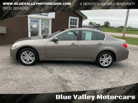 2013 Infiniti G37 Sedan for sale at Blue Valley Motorcars in Stilwell KS