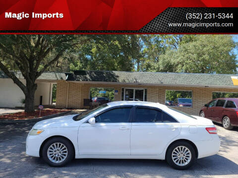 2011 Toyota Camry for sale at Magic Imports in Melrose FL