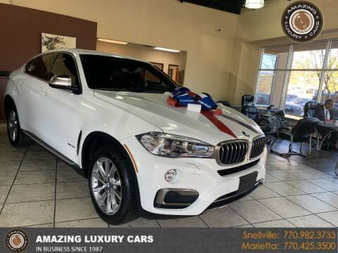 2017 BMW X6 for sale at Amazing Luxury Cars in Snellville GA