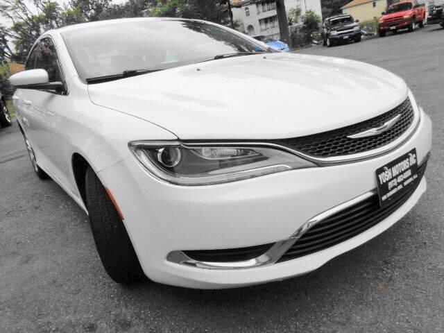 2015 Chrysler 200 for sale at Yosh Motors in Newark NJ