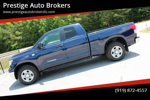 2008 Toyota Tundra for sale at Prestige Auto Brokers in Raleigh NC