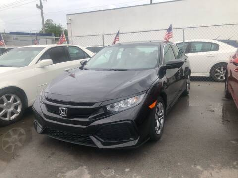2017 Honda Civic for sale at Motor Trendz Miami in Hollywood FL