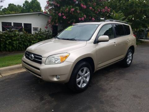2007 Toyota RAV4 for sale at TR MOTORS in Gastonia NC
