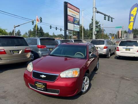 2007 Chevrolet Malibu for sale at Tacoma Autos LLC in Tacoma WA