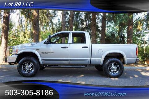 2006 Dodge Ram Pickup 2500 for sale at LOT 99 LLC in Milwaukie OR