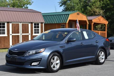 2015 Kia Optima for sale at GREENPORT AUTO in Hudson NY