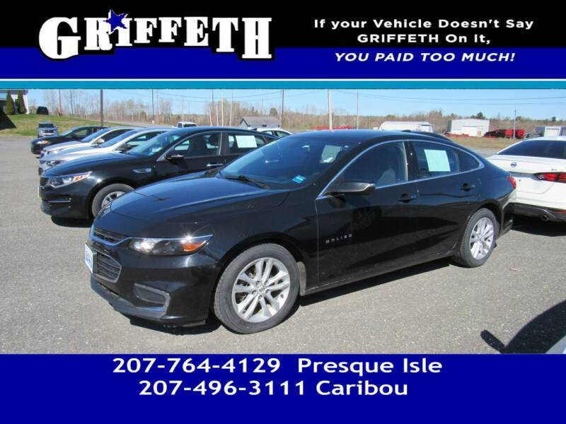 2016 Chevrolet Malibu for sale at Griffeth Mitsubishi - Pre-owned in Caribou ME