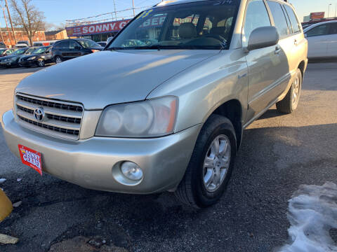 2003 Toyota Highlander for sale at Sonny Gerber Auto Sales 4519 Cuming St. in Omaha NE