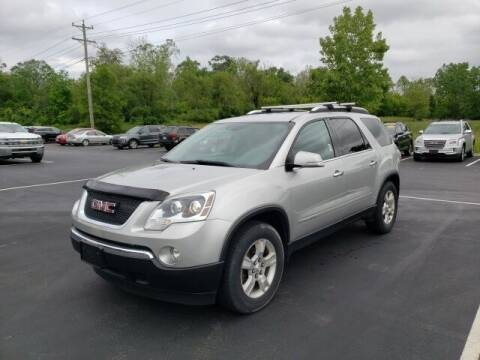 2008 GMC Acadia for sale at White's Honda Toyota of Lima in Lima OH