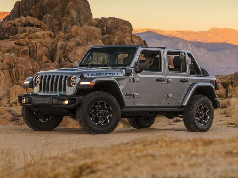 2021 Jeep Wrangler 4xe for sale at MIDWAY CHRYSLER DODGE JEEP RAM in Kearney NE
