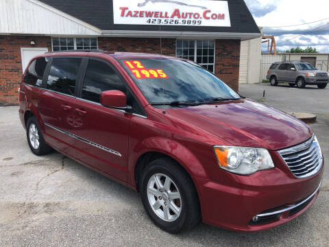 2012 Chrysler Town and Country for sale at tazewellauto.com in Tazewell TN