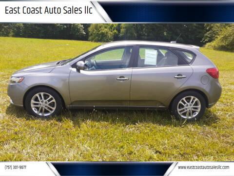 2011 Kia Forte5 for sale at East Coast Auto Sales llc in Virginia Beach VA