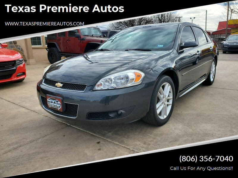 2013 Chevrolet Impala for sale at Texas Premiere Autos in Amarillo TX