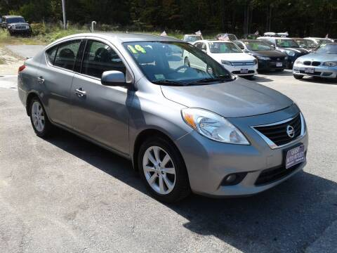 2014 Nissan Versa for sale at Quest Auto Outlet in Chichester NH