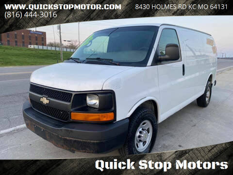 2012 Chevrolet Express Cargo for sale at Quick Stop Motors in Kansas City MO