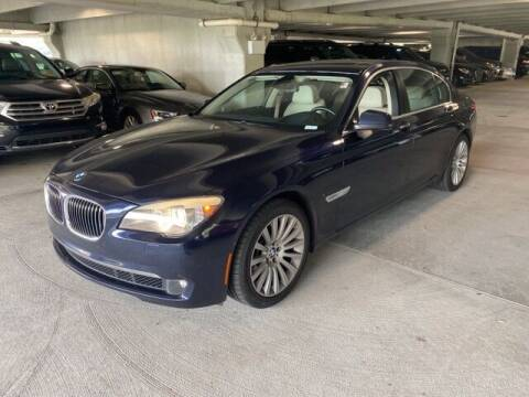 2012 BMW 7 Series for sale at Southern Auto Solutions-Jim Ellis Hyundai in Marietta GA
