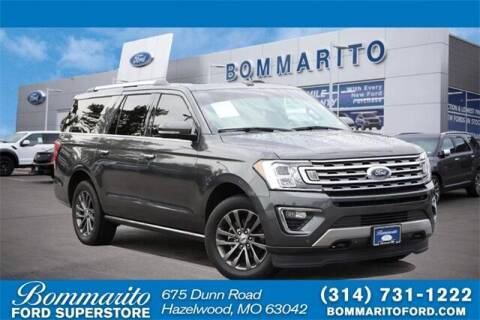 2020 Ford Expedition MAX for sale at NICK FARACE AT BOMMARITO FORD in Hazelwood MO