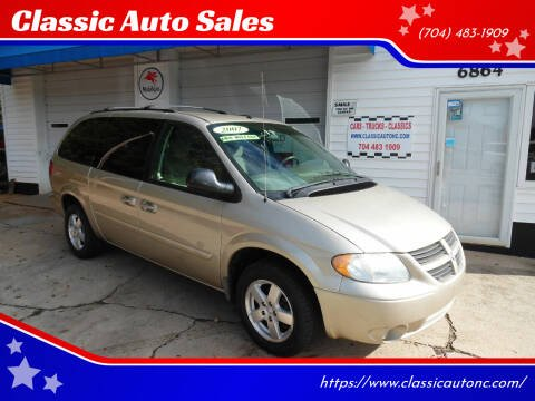 2007 Dodge Grand Caravan for sale at Classic Auto Sales in Maiden NC
