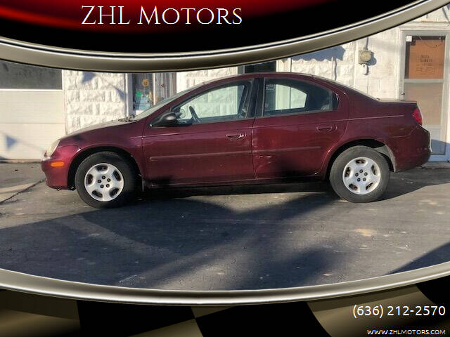 2002 Dodge Neon for sale at ZHL Motors in House Springs MO