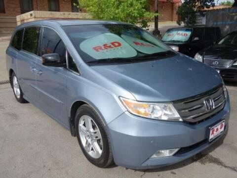 2011 Honda Odyssey for sale at R & D Motors in Austin TX