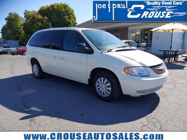 2004 Chrysler Town and Country for sale at Joe and Paul Crouse Inc. in Columbia PA