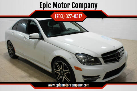 2014 Mercedes-Benz C-Class for sale at Epic Motor Company in Chantilly VA