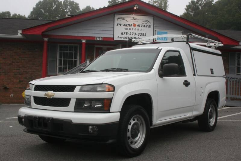 2012 Chevrolet Colorado for sale at Peach State Motors Inc in Acworth GA