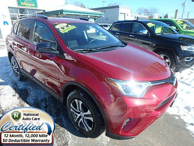 2018 Toyota RAV4 for sale at Jon's Auto in Marquette MI