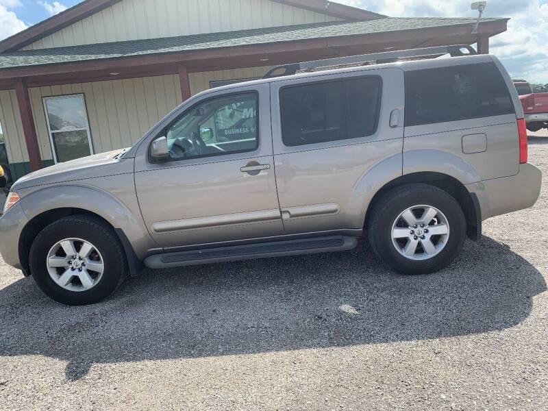 2008 Nissan Pathfinder for sale at Zimmerman Motors LLC in Wathena KS