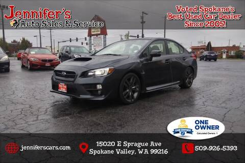 2017 Subaru WRX for sale at Jennifer's Auto Sales in Spokane Valley WA