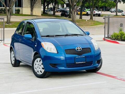 2008 Toyota Yaris for sale at Texas Drive Auto in Dallas TX