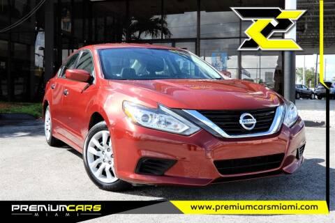 2016 Nissan Altima for sale at Premium Cars of Miami in Miami FL