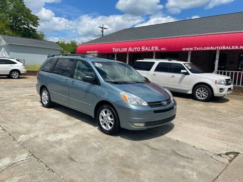 2005 Toyota Sienna for sale at Taylor Auto Sales Inc in Lyman SC