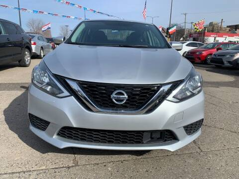 2018 Nissan Sentra for sale at Minuteman Auto Sales in Saint Paul MN
