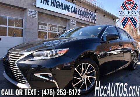 2017 Lexus ES 350 for sale at The Highline Car Connection in Waterbury CT