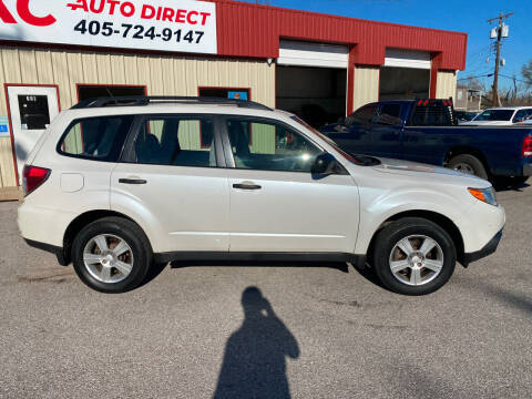 2013 Subaru Forester for sale at OKC Auto Direct in Oklahoma City OK