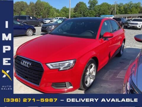 2018 Audi A3 for sale at Impex Auto Sales in Greensboro NC