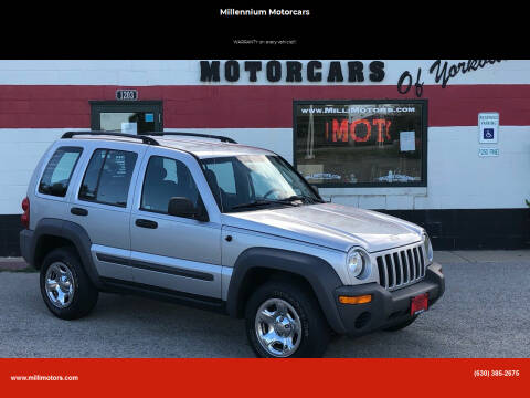 2004 Jeep Liberty for sale at Millennium Motorcars in Yorkville IL