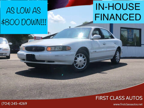 2000 Buick Century for sale at First Class Autos in Maiden NC