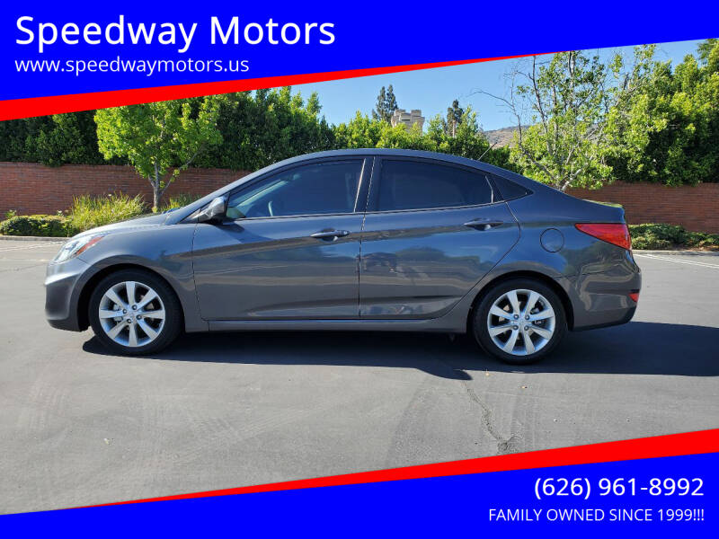 2012 Hyundai Accent for sale at Speedway Motors in Glendora CA