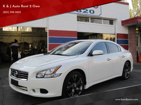 2014 Nissan Maxima for sale at K & J Auto Rent 2 Own in Bountiful UT
