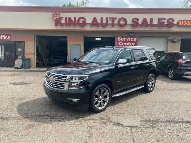 2015 Chevrolet Tahoe for sale at KING AUTO SALES  II in Detroit MI