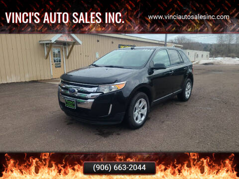 2013 Ford Edge for sale at Vinci's Auto Sales Inc. in Bessemer MI