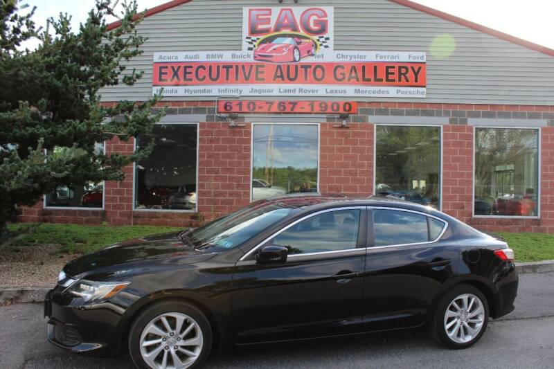 2016 Acura TLX for sale at EXECUTIVE AUTO GALLERY INC in Walnutport PA