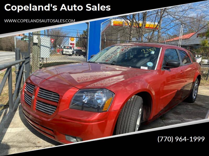 2007 Dodge Magnum for sale at Copeland's Auto Sales in Union City GA