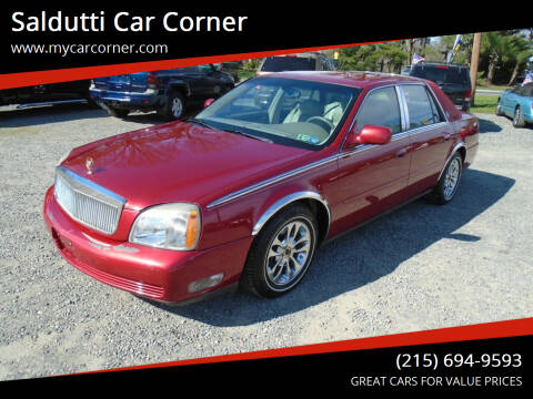 2004 Cadillac DeVille for sale at Saldutti Car Corner in Gilbertsville PA