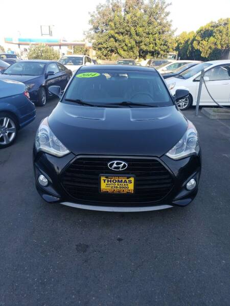 2014 Hyundai Veloster for sale at Thomas Auto Sales in Manteca CA