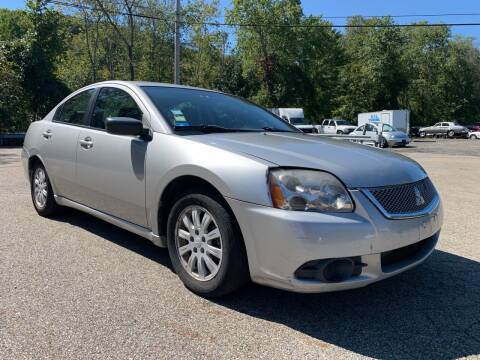2012 Mitsubishi Galant for sale at George Strus Motors Inc. in Newfoundland NJ