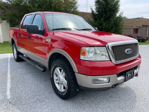 2004 Ford F-150 for sale at CROSSROADS AUTO SALES in West Chester PA